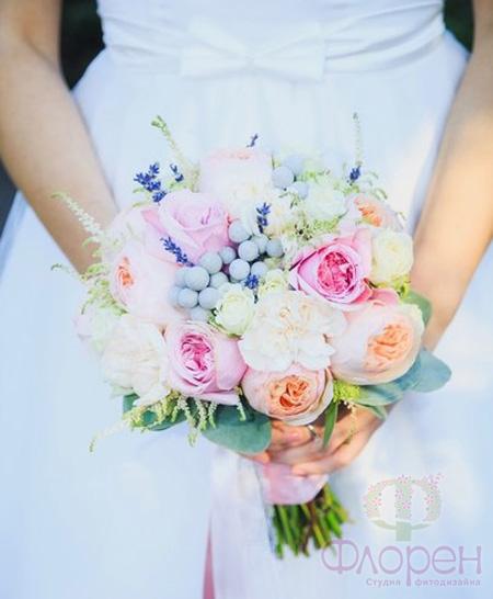 Свадебный букет невесты 2 15 -6 фото   Lady Network